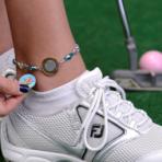 Ladies Ball Marker Ankle Bracelet